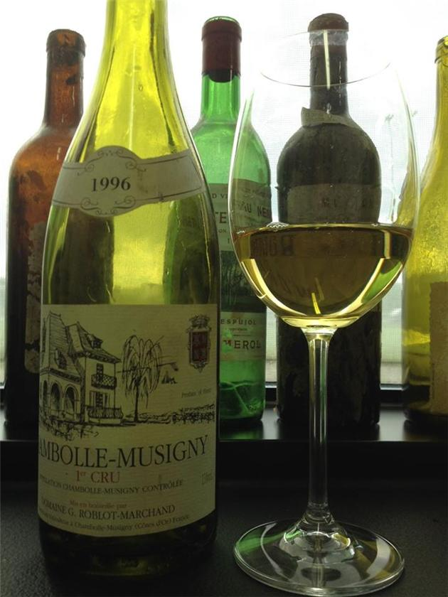 1996 Chambolle Musigny Blanc 1 er cru