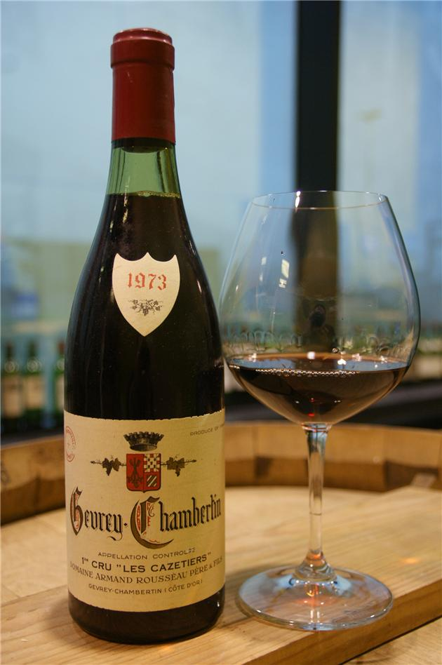 1973 GEVREY CHAMBERTIN LES CAZETIERS - Armand Rousseau