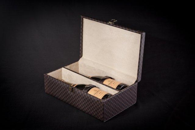 emballage cadeau 2 bouteilles achat en ligne acheter. Black Bedroom Furniture Sets. Home Design Ideas